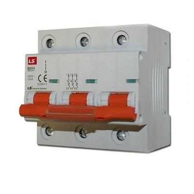 CB tép (MCB) BKH3P-125A,10KA