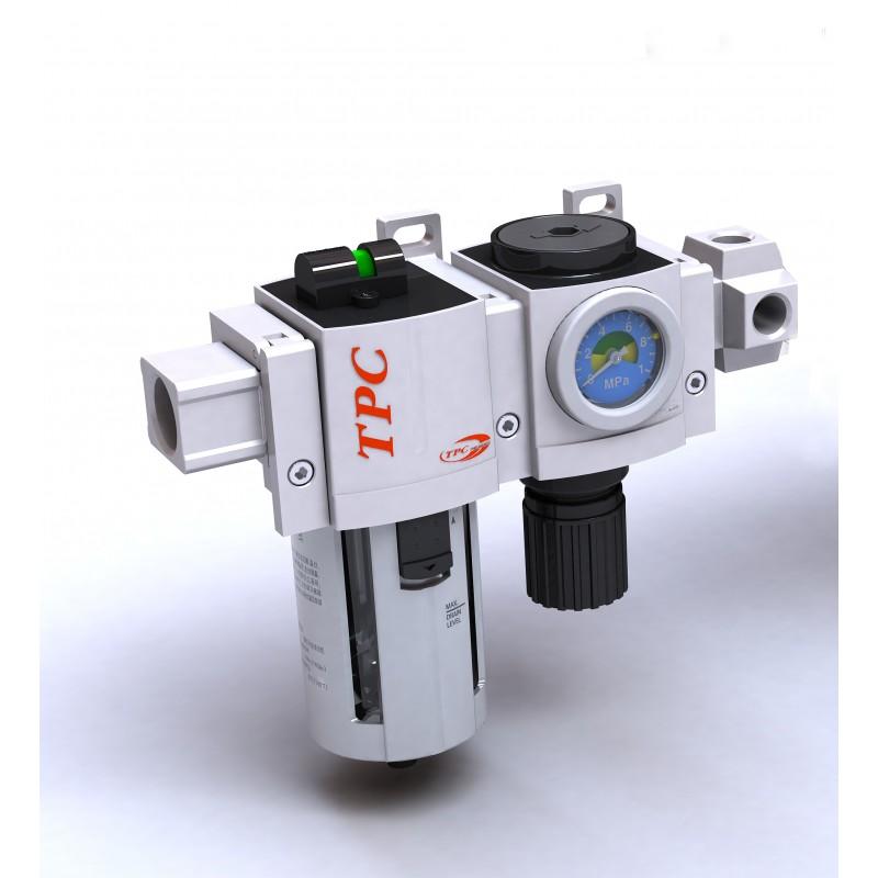 Bộ lọc khí + bộ chỉnh áp + bộ cấp dầu PC2-02DG