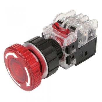 Công tắc khẩn có đèn viền nhôm MRA-NR1D0R