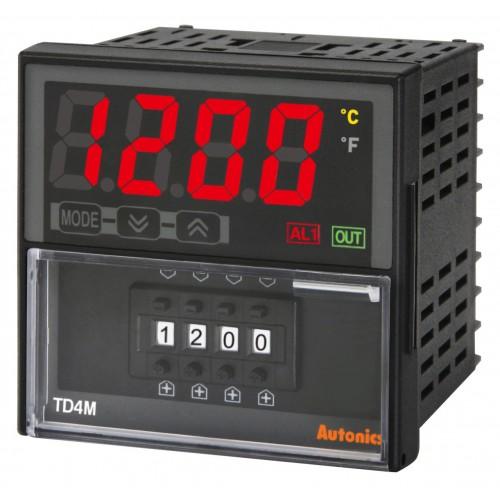Điều khiển nhiệt độ Autonics TD4M-N4R/S/C