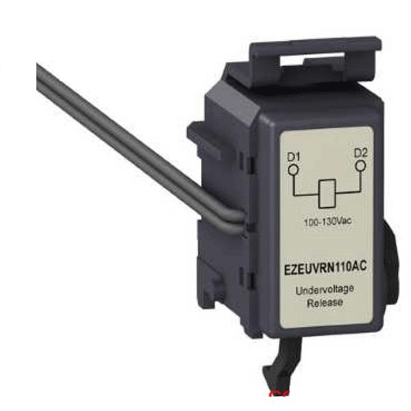 Bảo vệ thấp áp sử dụng cho MCCB 4P EasyPact 250 Schneider EZEUVRN125DC